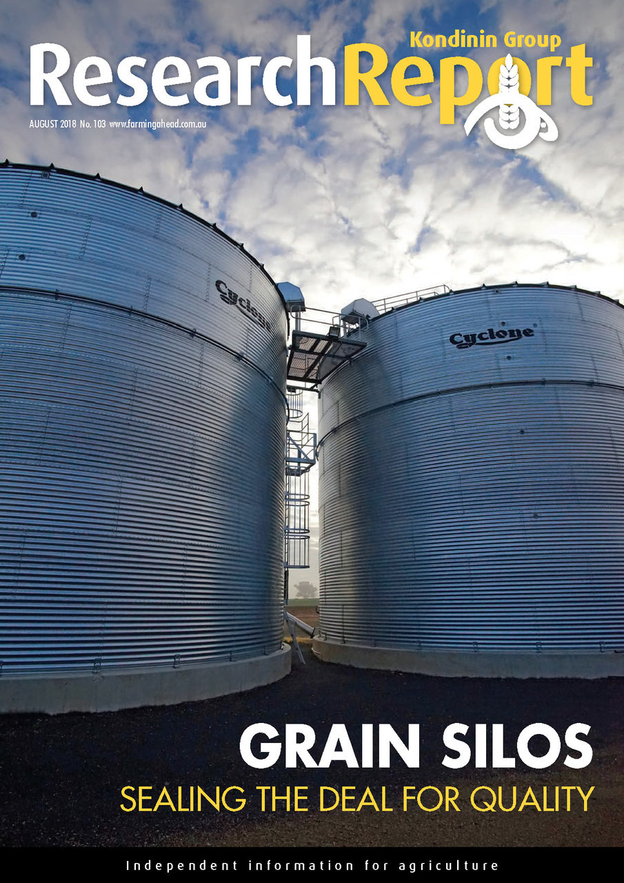 Research Report 103: Grain Silos - Kondinin Group Bookstore
