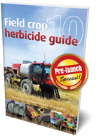 PRE-LAUNCH SPECIAL - Field Crop Herbicide Guide 10