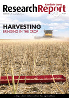Research Report 131: Harvesting Bringing In The Crop