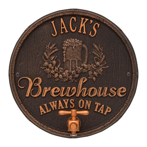Custom Metal Sign - Gifts for Beer Snobs