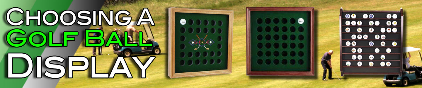 Golf Ball Display Gift Guide Header