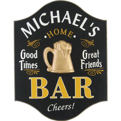 Home Bar Sign - Birthday Gift for Him