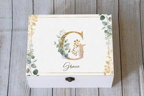 Personalized Keepsake Box