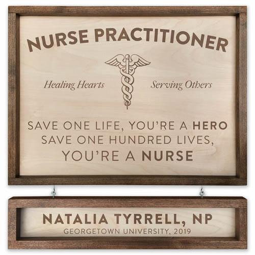 Personalized Nurse Graduation Sign