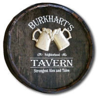 Neighborhood Tavern Personalized Pub Sign