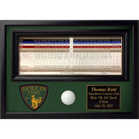 Personalized Hole in One Display with Crest