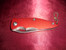 Red Aluminum Pocket Knife Personalized - Blank