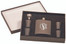 Personalized Flask Gift Set in Matte Black