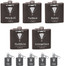 Personalized Tuxedo Flask - Complete Set