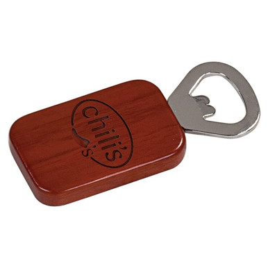 Personalized Engraved Wood Bottle Opener