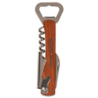 Wooden Bottle Opener & Wine Corkscrew