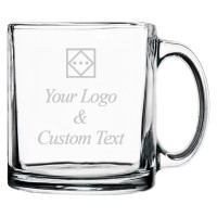 Personalized Coffee Mug (Logo & Text)