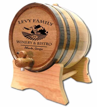 Chateau II Winery Oak Barrel