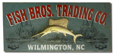 Vintage Trading Co. Sign