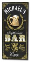 Neighborhood Bar Sign