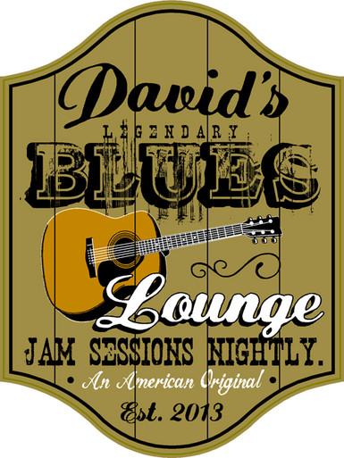 Blues Bar Plaque