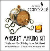Barrel Connoisseur Kit - Make Your Own Whiskey