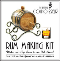 Barrel Connoisseur Kit - Make Your Own Rum