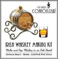 Barrel Connoisseur Kit - Make Your Own Irish Whiskey