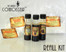 Refill Kits for Rum Connoisseur Includes Spiced, Dark Jamaican, and Amber Caribbean rum essences