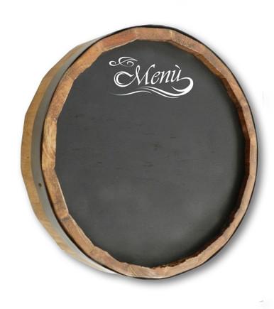Quarter Barrel Chalkboard - Menu