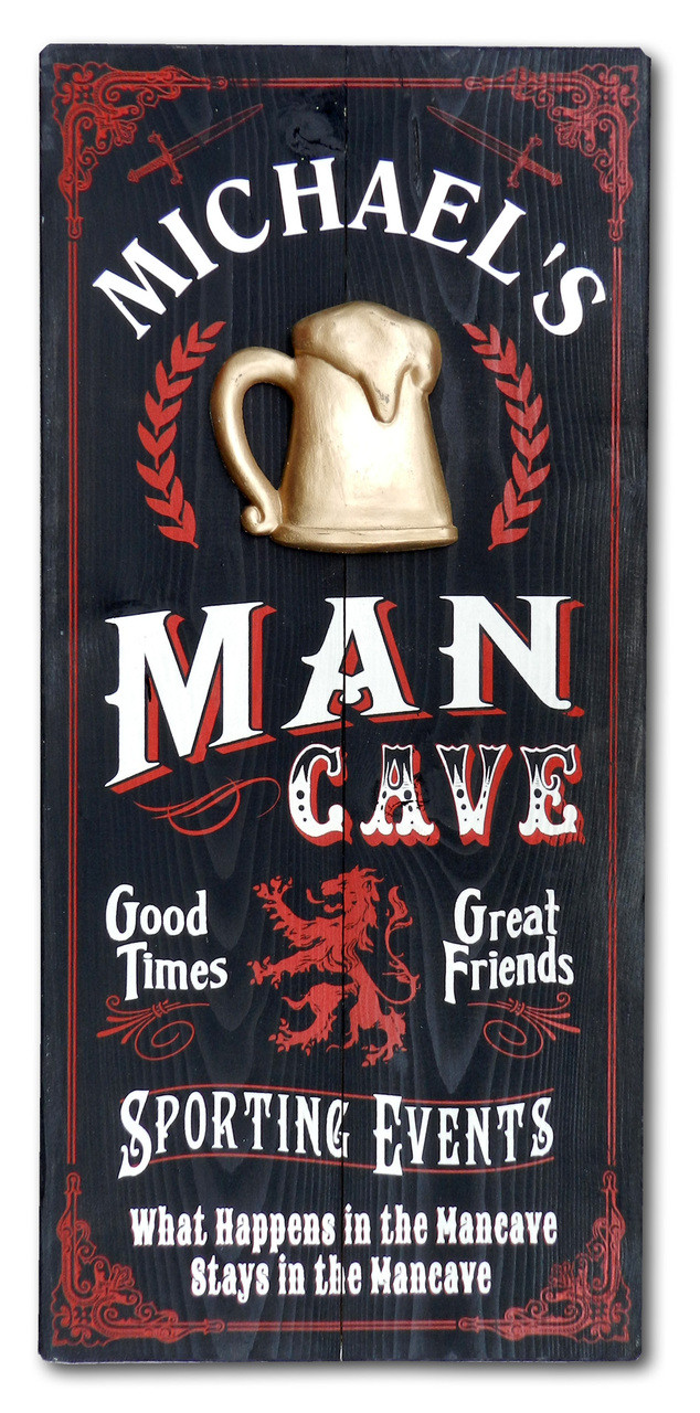 Golf Man Cave Wall Decor