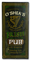Personalized Vintage Irish Pub Sign