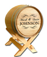 Wedding Barrel Design B502: Fancy