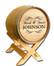 Wedding Barrel Design B502: Fancy