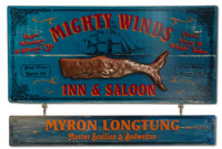 Mighty Winds Sailing Inn Vintage Sign