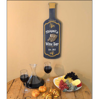 Looks great in your home wine bar!