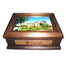 Keepsake Box with Name Plate