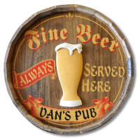 Fine Beer Vintage Pub Sign