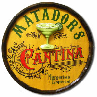 Margarita Cantina Vintage Sign