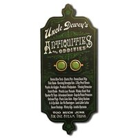 Antiques & Oddities Personalized Wall Art Sign