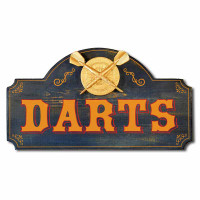 Vintage Darts Plaque