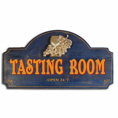 Vintage Tasting Room Plaque