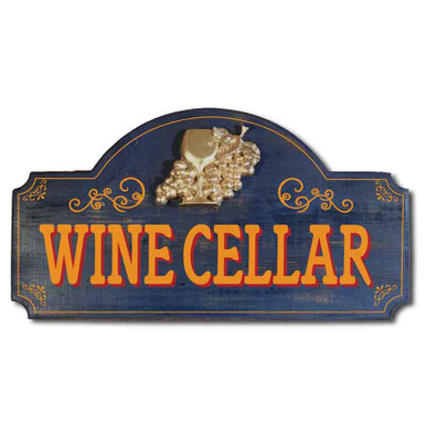 Vintage Wine Cellar Sign