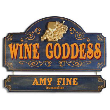 Wine Goddess Plaque