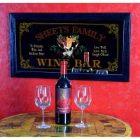 Wine Bar Mirror - Live, Laugh, Love