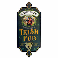 Vintage Personalized Irish Pub Sign