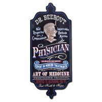 Vintage Personalized Physician Sign