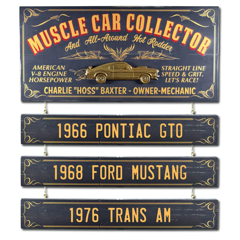 Office ManCave Gift Personalized ATTORNEY AT LAW Vintage Wood Plank Sign Home