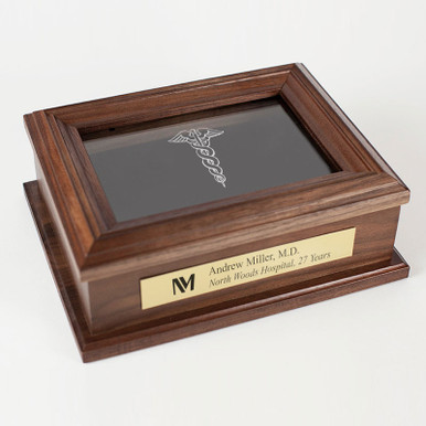 Personalized Medical Retirement Keepsake Box