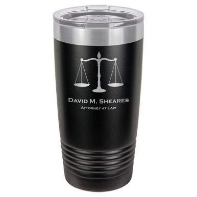 Personalized Attorney Tumbler
