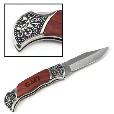 Old-Fashioned Personalized Pocket Knife