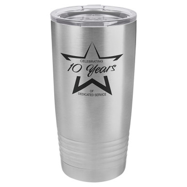 Personalized Tumblers - 20oz Stainless Steel Custom Engraved Tumbler Mug