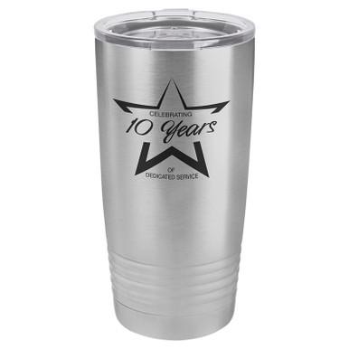 Personalized Tumblers - 20oz Stainless Steel Custom Engraved Tumbler Mug