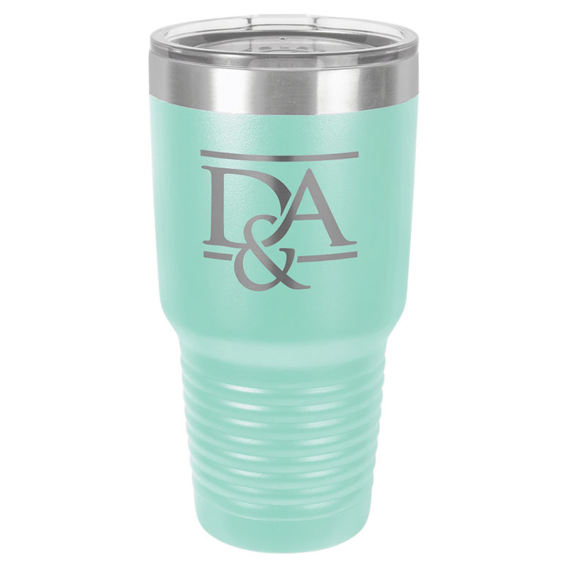 Personalized Tumbler 30oz Teal Custom Engraved Polar Camel Insulated Thermal Mug