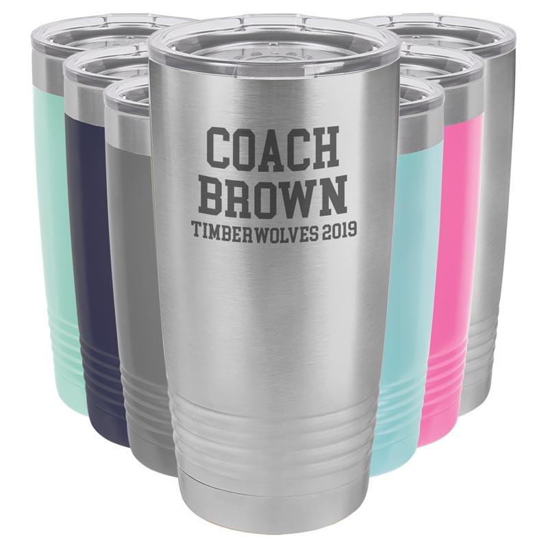 Personalized Coach Gift - Custom Tumbler